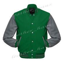 Superb Genuine Leather Sleeve Letterman College Varsity Wool Jacket GYS-GYS-GYB1