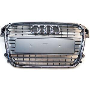 ORIGINAL Audi Kühlergrill Frontgrill Grill steingrau A1 8X0853651  1QP