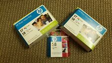 New Sealed Hewlett Packard HP 57 58 Photo Value Pack/ Extra 58 Cartridge Inkjet