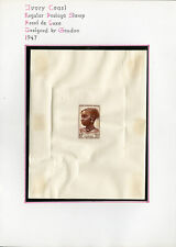 Ivory Coast Postage Stamp Proof Deluxe by Gandon 1947