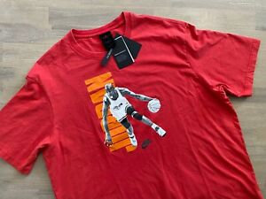 Nike Air Jordan Vintage Washed T Shirt Mens Size XXL DJ6597 657 Loose Fit