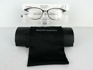 Barton Perreira Songbird (PEW) Pewter TITANIUM 49 X 16 145 mm  Eyeglass Frames
