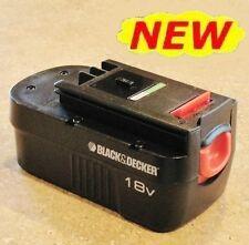 NEW! Genuine Black & Decker 18V 18 Volt Slide-Style NiCD BATTERY HPB18