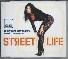 PERONI PROJECT ft JESSICA - Street life CDM 4TR ITalo Eurodance 1997 DANZA