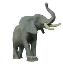 Papo 50041 Trumpeting Elephant Model Wild Animal Figurine Toy Replica Gift - NIP