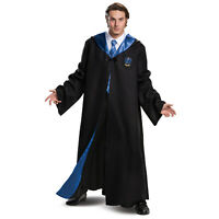 Adult Unisex Harry Potter Ravenclaw Student Cloak Halloween Costume Hooded Robe