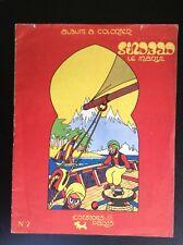 Rare ancien Album Cahier à colorier Sinbad le marin BON ETAT