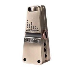 Dark Blue see Note Stainless Steel Fidget Clicker Spiral Design EDC