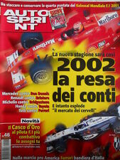 Autosprint n°46 2001 Nuova Stagione 2002 Formula 1  [P19]