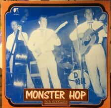 MONSTER HOP Various Artists EX LP 1988 Rockabilly Compilation Netherlands Import