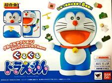 Doraemon Chogokin GuruGuru Die Cast Figure Complete Box Bandai