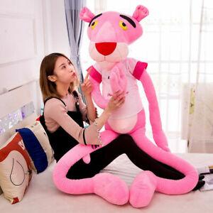 NEU Rosaroter Panther Plüschtier Pink Panther Kuscheltier Happy Begleitgeschenk