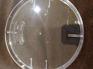 Lexan bladeless blank-off for Electric meter socket