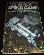 Spend Game By Jonathan Gash 1982 Paperback