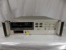 HP AGILENT 8508A VECTOR VOLTMETER W/ CALIBRATED STICKER