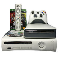 Microsoft Xbox 360 20GB Console Bundle - HD DVD Player, Games, Controller, Power