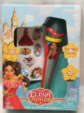 New Disney ELENA AVALOR Light Up Melody Microphone My Time Song Sing Along NIB
