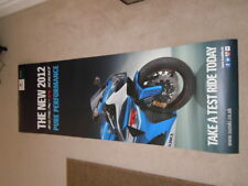 SUZUKI GSX R 1000 2012 DEALER SHOWROOM POSTER - MAN CAVE - GARAGE - HOME BAR