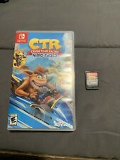 CTR Crash Team Racing  - COMPLETE - Nintendo Switch- Super FAST SHIPPING!