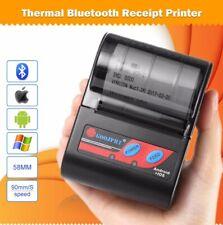 Mini,Portable POS Bluetooth Receipt Printer Supports iOS, Android, Rechargable