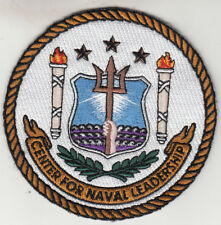 CENTER FOR NAVAL LEADERSHIP PATCH