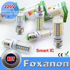 E27 LED Corn Bulb 5730 SMD Warm Cool White Lamp AC220V240V Light 7/ 9/12/15/25W