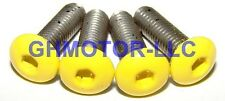 03 04 05 06 DUCATI 749 999 COMPLETE YELLOW FAIRING BOLTS SCREWS FASTENERS KIT