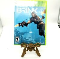 Brink Microsoft Xbox 360 Complete With Game Case Manual Very Good Bethesda