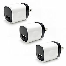 3x 1A USB Wall Charger Plug Home Power Adapter For iPhone 6 7 Samsung Android LG