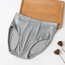 Hombre PUNTO Pura Seda Calzoncillos Cómodo Ropa Interior Braguitas Pantalones