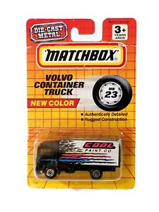 Matchbox Volvo Container Truck Cool Paint / 1993 / # 23