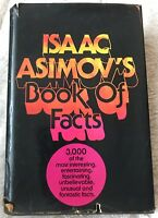 Isaac Asimov's Book of Facts, Isaac Asimov, 1979 1st printing, HC w/ dust jacket