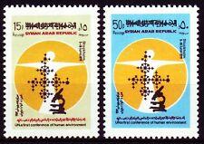 Syrie Syria 1972 ** mi.1201/02 Protection de l'environnement Environment Protection