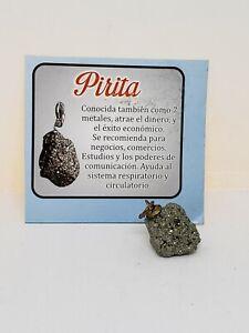 PIRITA DINERO Y BUENA SUERTE 1 Pz INSTRUCCIONES INCLUIDAS PARA ACTIVAR SU PIEDRA