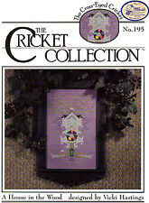 A House in the Wood Cross Stitch Leaflet - Cricket Collection #195 - Easter