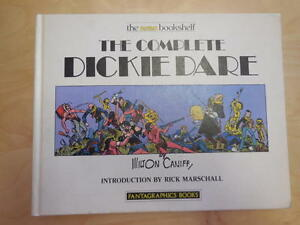 The Complete Dickie Dare    Milton Caniff    Nemo Bookshelf    1st Print