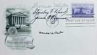 "VERY RARE! ""Supreme Court Justices"" Hand Signed FDC JG Autographs COA"