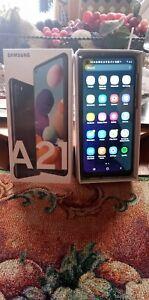 Samsung Galaxy A21 SM-A215U - 32GB - Black (T-Mobile) (Single SIM)