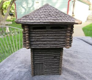 54 mm Barzso 3 piece blockhouse from Fort Boonesborough