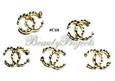 5pc Nail Art Charms 3D Nail Rhinestones Decoration Jewelry DIY Bling - C60
