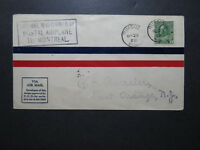 Canada 1928 Roessler First Flight Cover Rimouski to Montreal - Z10576