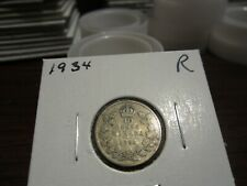 1934 - Canada dime - Silver - Canadian 10 cent