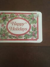 Vintage Nip Grand Award Brand Happy Holidays Post Cards (15 count) Hollyberry