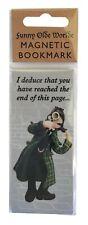 Sherlock Holmes magnetic bookmark by HOLY MACKEREL Made in UK