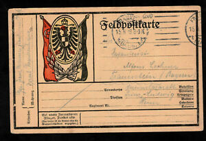 Motiv-PK - 1916 aus Frankfurt Main ins Feld an einenInfanteristen - I. WK-