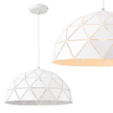 [lux.pro] Hängeleuchte Metall Weiß Deckenleuchte Leuchte Pendelleuchte Design