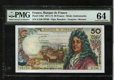 France 1974 50 Francs Banque de France  PMG64 MA-BN147