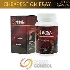 CLIMAX CONTROL 60 Pills Premature Ejaculation ORGASM DELAY 100% NATURAL Xtrasize