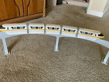 Original 2001 Disney Monorail Mark Iv Yellow Playset