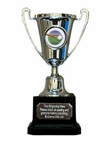 Snooker Pool Cue Silver Moment Cup Sports Award Trophy E) ENGRAVED FREE